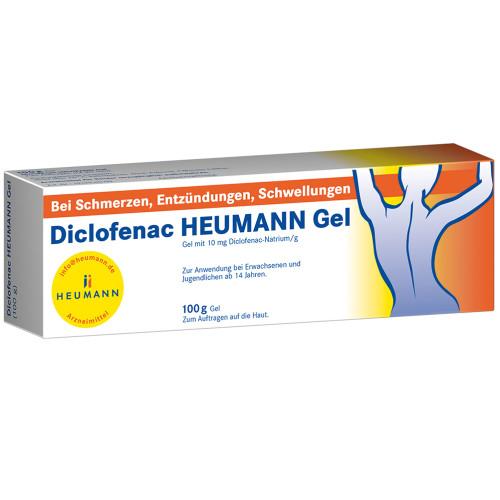 DICLOFENAC HEUMANN GEL, 100 G, Heumann Pharma GmbH & Co. Generica KG