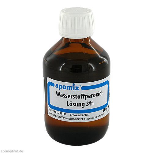 WASSERSTOFFPEROXIDLOESUNG 3% DAB 10, 200 G, Apomix Pkh Pharmazeutisches Labor GmbH