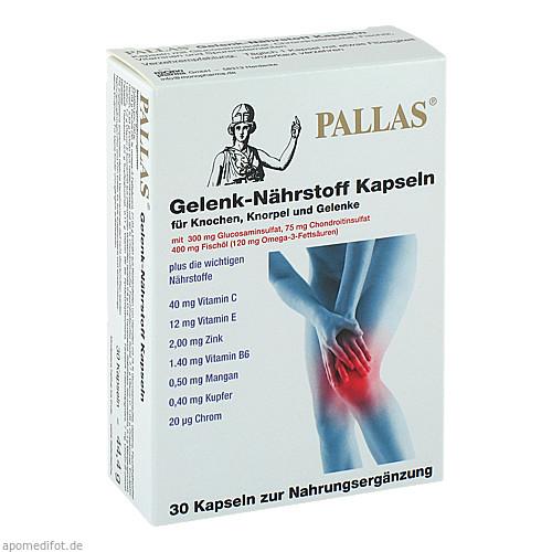 PALLAS Gelenk-Nährstoff Kapseln, 30 ST, Monopharma GmbH
