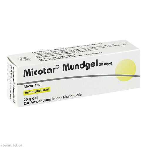 MICOTAR MUNDGEL, 20 G, Dermapharm AG