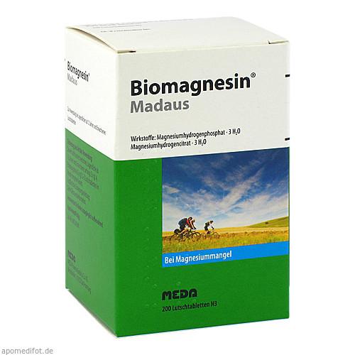 BIOMAGNESIN, 200 ST, Meda Pharma GmbH & Co. KG
