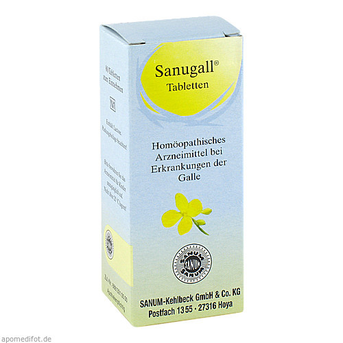 Sanugall, 80 ST, Sanum-Kehlbeck GmbH & Co. KG