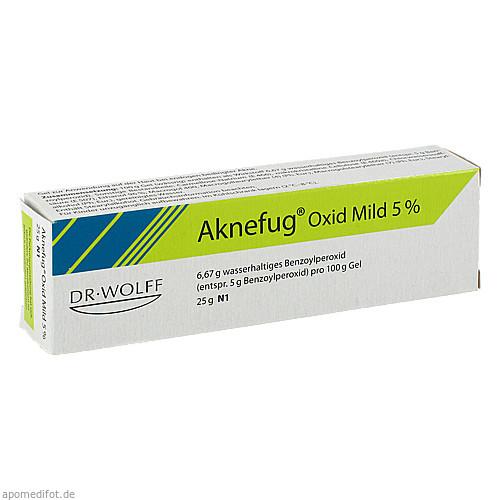 AKNEFUG-OXID MILD 5%, 25 G, Dr. August Wolff GmbH & Co. KG Arzneimittel