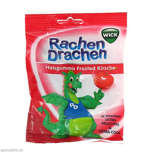WICK RACHENDRACHEN KIRSCHE 543204, 75 G, Dallmann's Pharma Candy GmbH