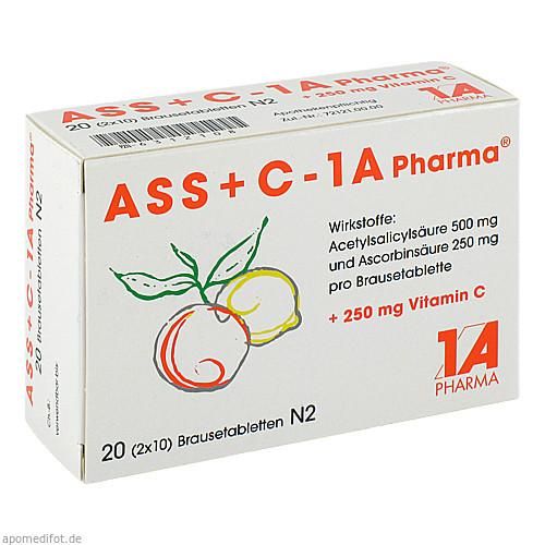 ASS + C - 1 A Pharma, 20 ST, 1 A Pharma GmbH