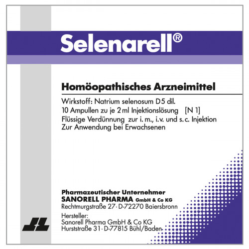 Selenarell, 10X2 ML, Sanorell Pharma GmbH & Co. KG