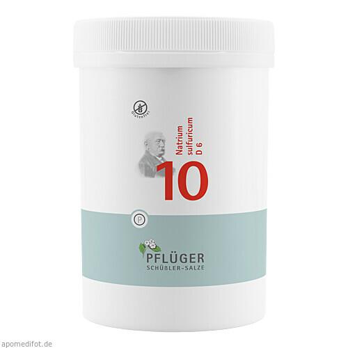 Biochemie Pflüger Nr. 10 Natrium sulfuricum D 6, 4000 ST, Homöopathisches Laboratorium Alexander Pflüger GmbH & Co. KG