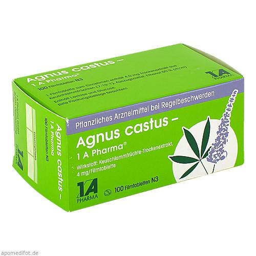 Agnus castus - 1 A Pharma, 100 ST, 1 A Pharma GmbH
