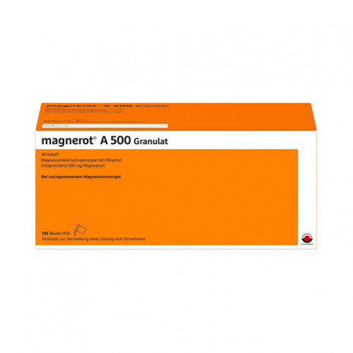 MAGNEROT A 500 BEUTEL, 100 ST, Wörwag Pharma GmbH & Co. KG