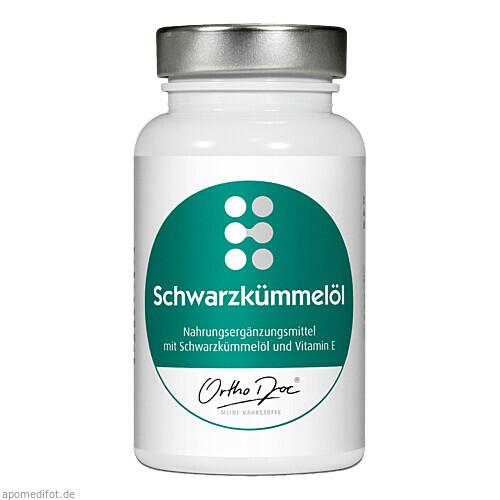 ORTHODOC Schwarzkümmelöl, 60 ST, Kyberg Vital GmbH