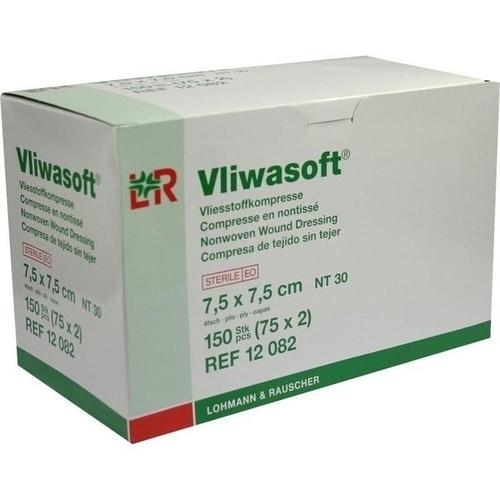 Vliwasoft Vlieskompresse 7.5x7.5cm, 150 ST, Lohmann & Rauscher GmbH & Co. KG