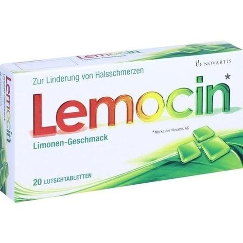 Lemocin Lutschtabletten, 20 ST, Emra-Med Arzneimittel GmbH