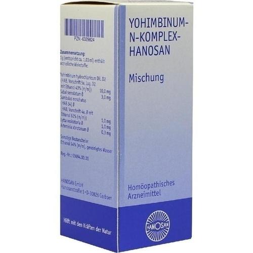 Yohimbinum-N-Komplex-HANOSAN, 50 ML, Hanosan GmbH