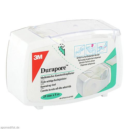 DURAPORE 2.50CMX5M ROLLENPFLASTER, 1 ST, 3M Medica Zweigniederlassung der 3M Deutschland GmbH