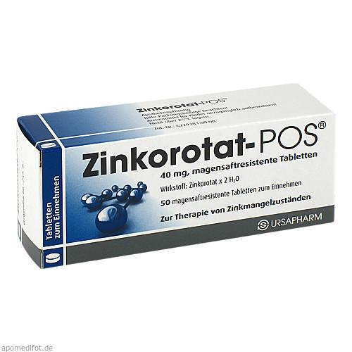ZINKOROTAT POS, 50 ST, Ursapharm Arzneimittel GmbH