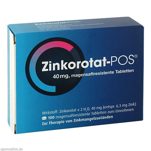 ZINKOROTAT POS, 100 ST, Ursapharm Arzneimittel GmbH
