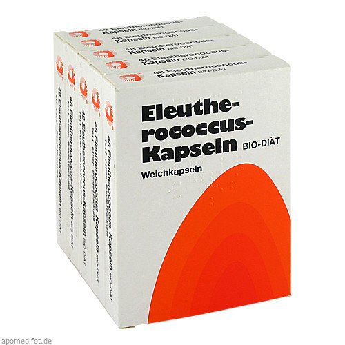 ELEUTHEROCOCCUS KAPSELN N, 240 ST, Hübner Naturarzneimittel GmbH