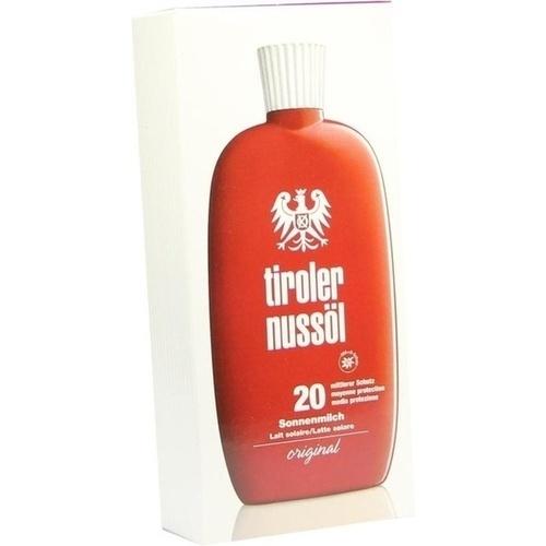 Tiroler Nussöl original Sonnenmilch wasserf.LSF 20, 150 ML, Dermapharm AG