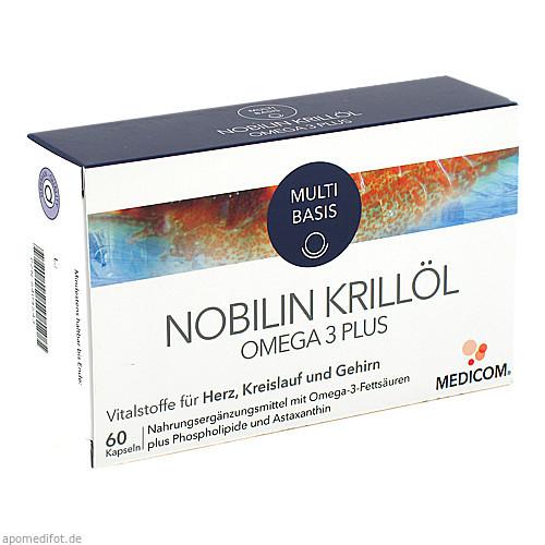 Nobilin Krillöl Omega 3 Plus, 60 ST, Medicom Pharma GmbH