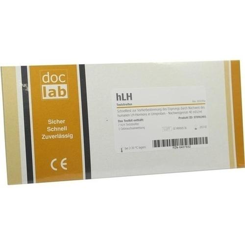 Ovulationsteststreifen hLH, 7 ST, Doclab GmbH