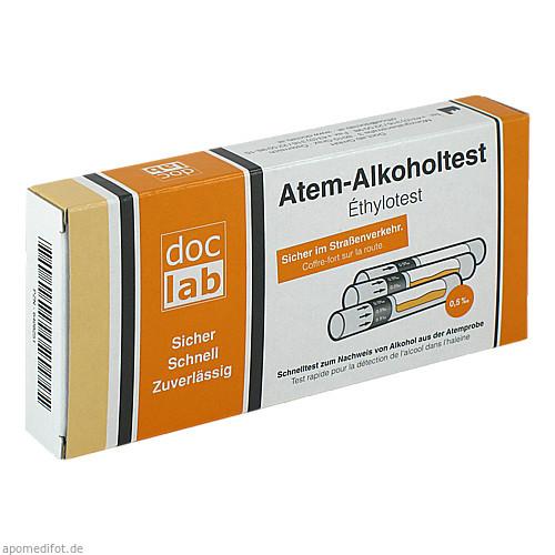 Alkoholtest Atem 0.5 0/00, 3 ST, Doclab GmbH
