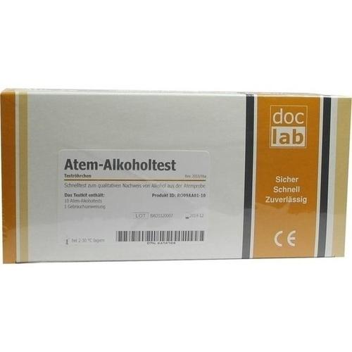 Alkoholtest Atem 0.5 0/00, 10 ST, Doclab GmbH