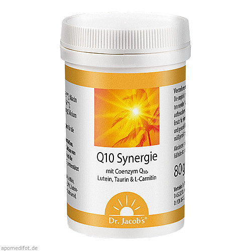 Q10 Synergie, 80 G, Dr.Jacobs Medical GmbH