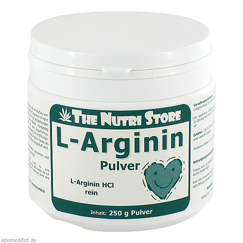L-Arginin HCl rein, 250 G, Hirundo Products
