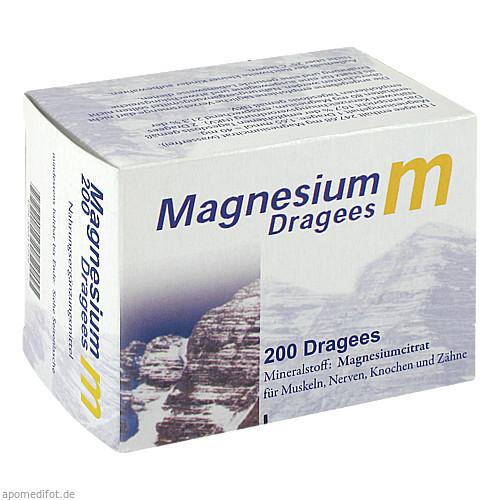 Magnesium m Dragees, 200 ST, Dr. Zinke Diätetika GmbH