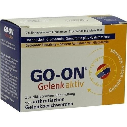 GO-ON Gelenk aktiv, 2X20 ST, MEDA Pharma GmbH & Co.KG