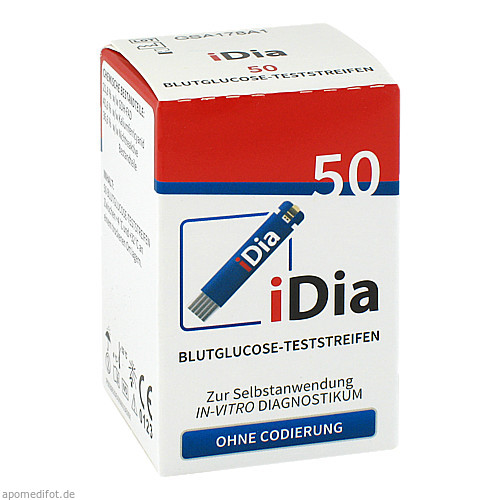 iDia IME-DC Blutzuckerteststreifen, 50 ST, Ime-Dc GmbH