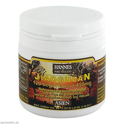 Jiaogulan Vegi-Kaps, 120 ST, Hannes Pharma Nutricon GmbH & Co. KG