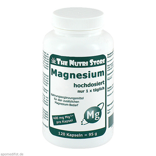 Magnesium 400mg, 120 ST, Hirundo Products