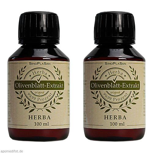 OLIVENBLATT-Extrakt Herba, 2X100 ML, SinoPlaSan AG