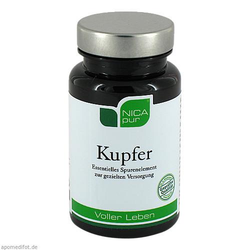 NICApur Kupfer, 60 ST, Nicapur Supplements GmbH & Co. KG