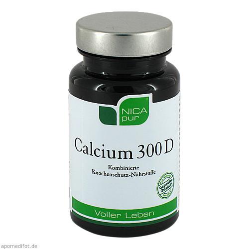 NICApur Calcium 300 D, 60 ST, Nicapur Supplements GmbH & Co. KG