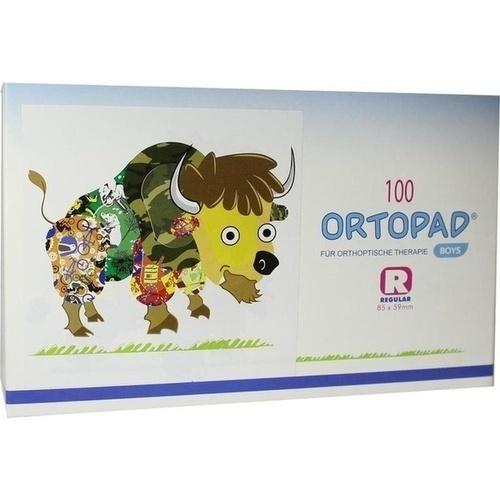ORTOPAD for boys regular Augenokklusionspfl., 100 ST, Trusetal Verbandstoffwerk GmbH
