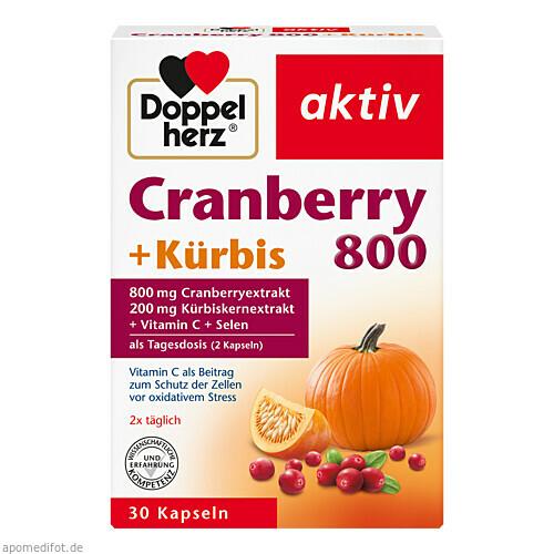 Doppelherz Cranberry + Kürbis, 30 ST, Queisser Pharma GmbH & Co. KG