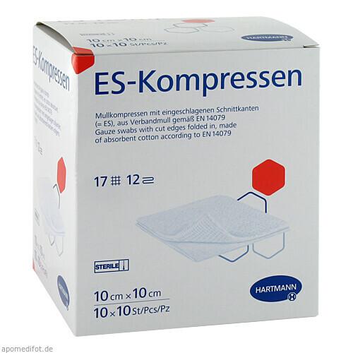 ES-Kompressen steril 10x10cm Großpackung, 10X10 ST, Paul Hartmann AG