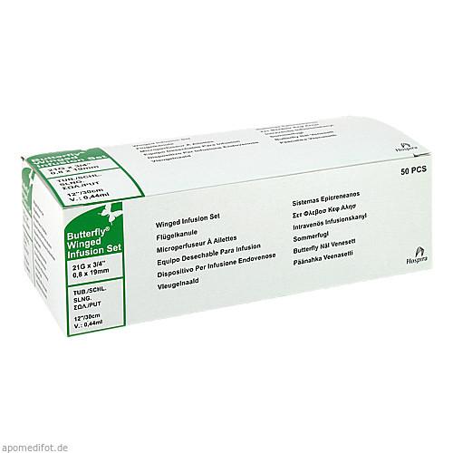 Infusionszubehör Butterfly 21G grün, 50 ST, ICU Medical Germany GmbH