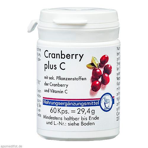 Cranberry + C Kapsel, 60 ST, Pharma-Peter GmbH
