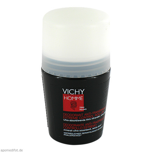 Vichy Homme Deo Anti-Transpirant 72h Extreme Cont., 50 ML, L'oreal Deutschland GmbH