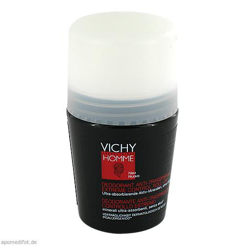 Vichy Homme Deo Anti-Transpirant 72h Extreme Cont., 50 ML, L'Oréal Deutschland GmbH