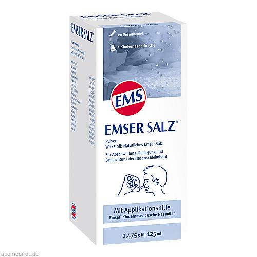 Emser Salz 1.475g Kombip.m.Nasanita Nasendu.Junior, 1 P, Sidroga Gesellschaft Für Gesundheitsprodukte mbH