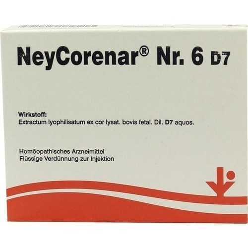 NeyCorenar Nr. 6 D7, 5X2 ML, Vitorgan Arzneimittel GmbH