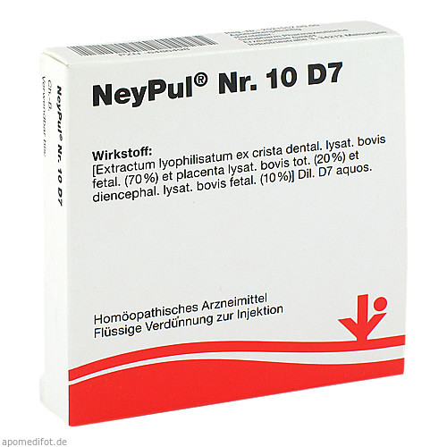 NeyPul Nr. 10 D7, 5X2 ML, Vitorgan Arzneimittel GmbH