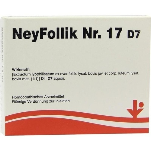 NeyFollik Nr. 17 D7, 5X2 ML, Vitorgan Arzneimittel GmbH