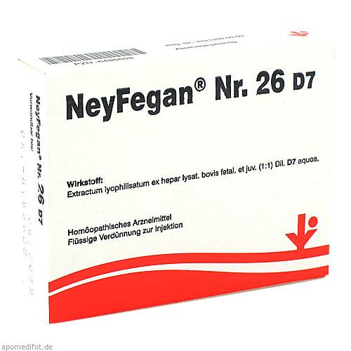 NeyFegan Nr. 26 D7, 5X2 ML, Vitorgan Arzneimittel GmbH