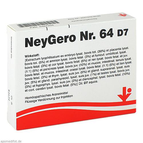 NeyGero Nr. 64 D7, 5X2 ML, Vitorgan Arzneimittel GmbH