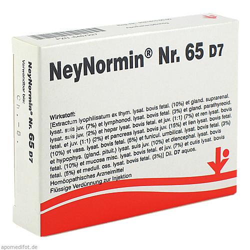 NeyNormin Nr. 65 D7, 5X2 ML, Vitorgan Arzneimittel GmbH
